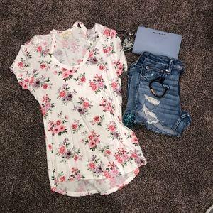 Flowered T-shirt